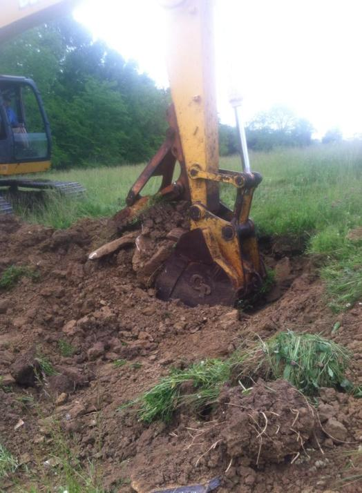 excavate 1