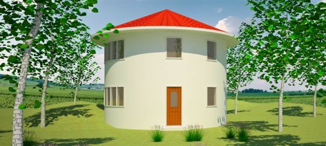 2 story roundhouse